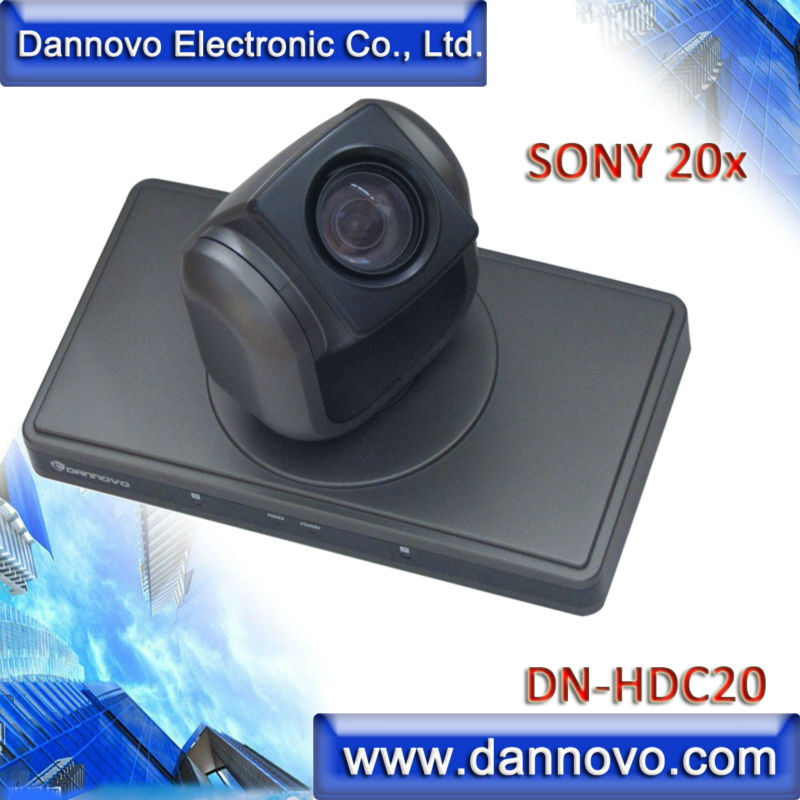 DANNOVO 1080P/60 Video Conference System Camera, Sony 20x Optical Zoom PTZ Camera,Support DVI,HDMI Video Output(China (Mainland))