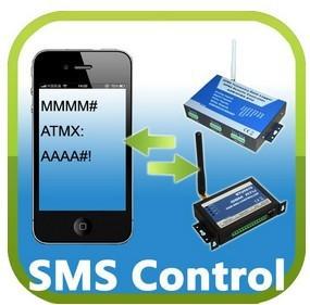 GSM SMS energy saving Controller 4I/O Ports RS232 Hot sale GSM street light controller RTU5010(China (Mainland))