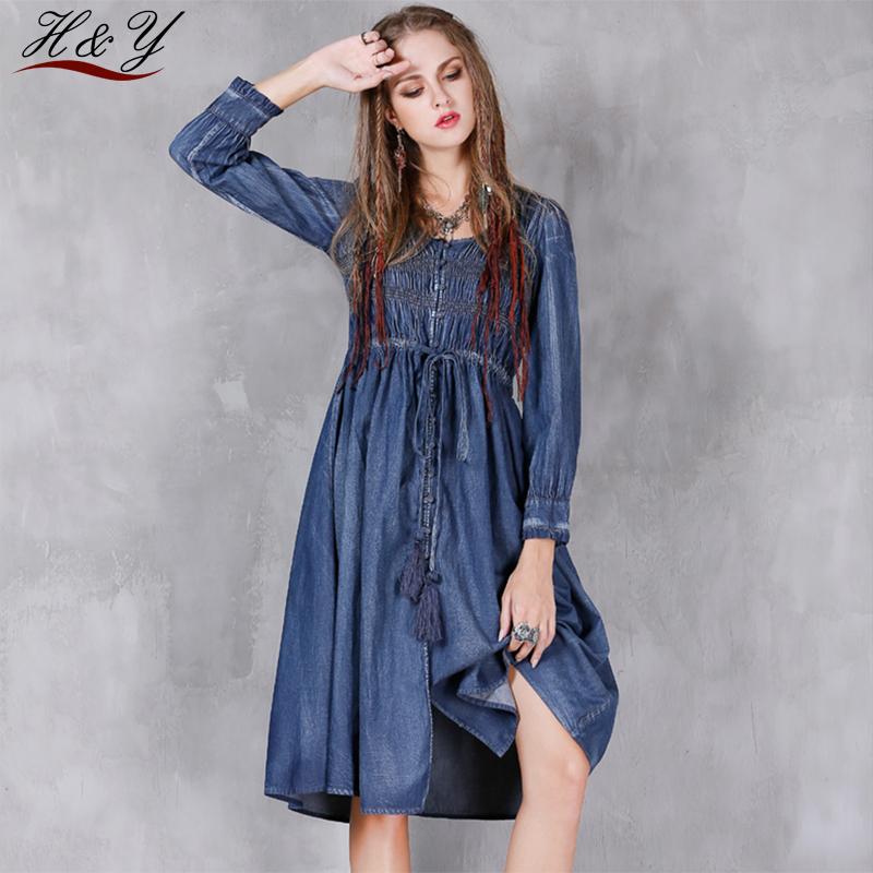 Джинсовые платья для женщин