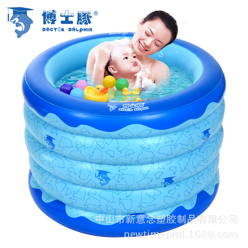 Dr. wholesale manufacturers inflatable baby dolphin pool, Baby send collar a generation of fat Recruitment Agency(China (Mainland))