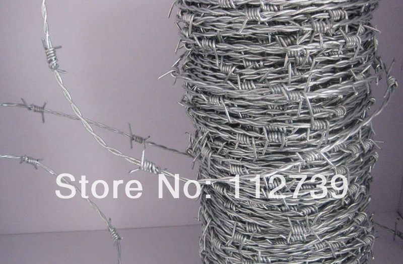 Roll galvanized barbed wire kg a or