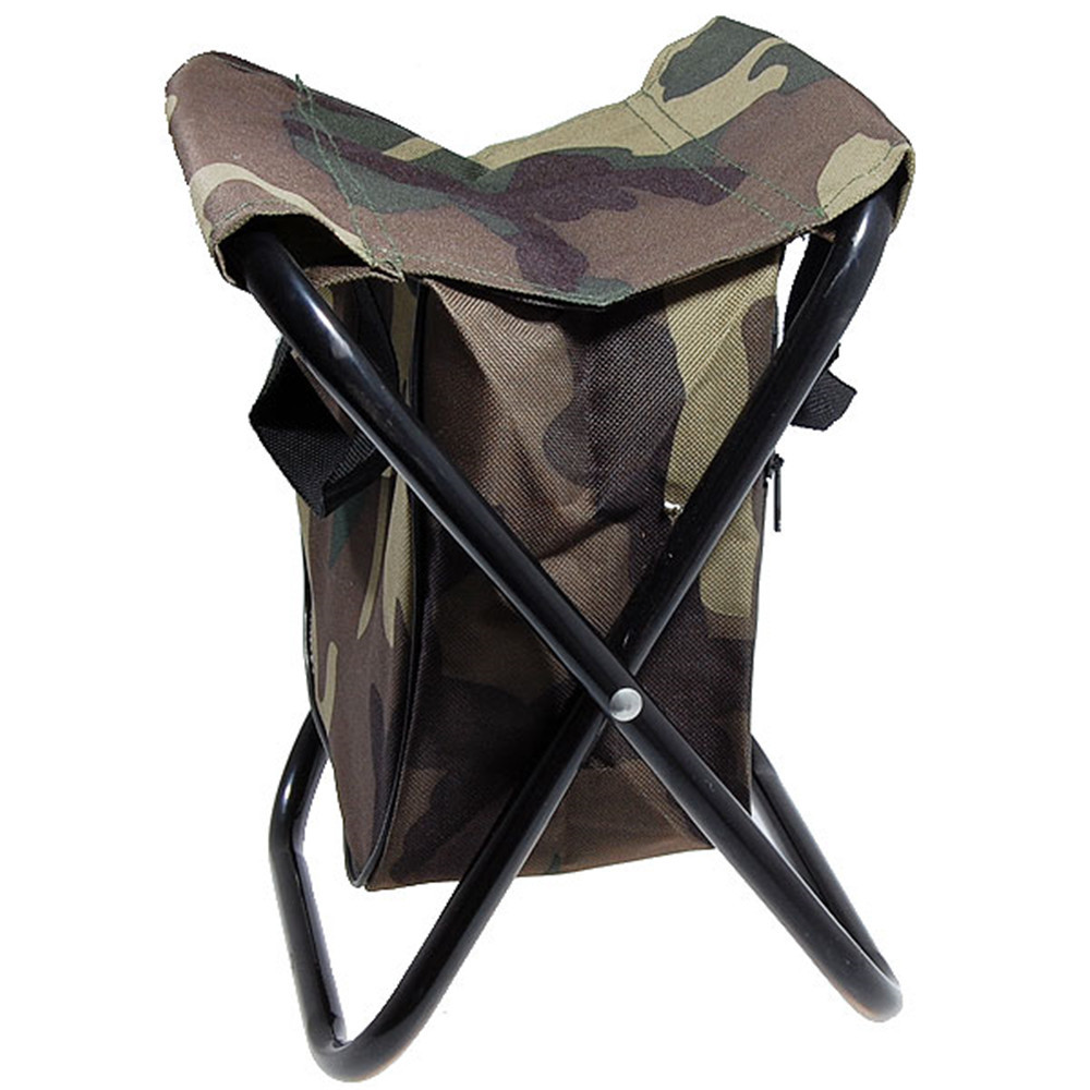 Free shipping New Portable sillas camping Camo Folding chair Camp Stool with