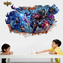 Buy 3d league legends wall decal stickers home decor vinyl diy wallpaper seld-adhesive kids room wall poster for $8.05 in AliExpress store