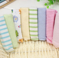 Single Small Square 8pcs Baby's Towels Baby Feeding Towel Baby Face Washers Hand Towels Cotton Handkerchief 8 installed
