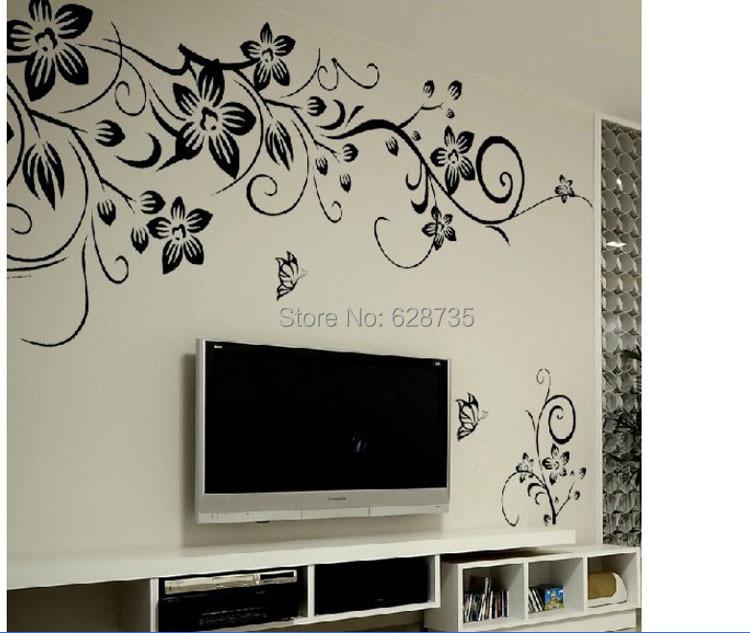 envo gratis tamao grande x cm de pared vivir living room wall decal stickers decoracin de la casa