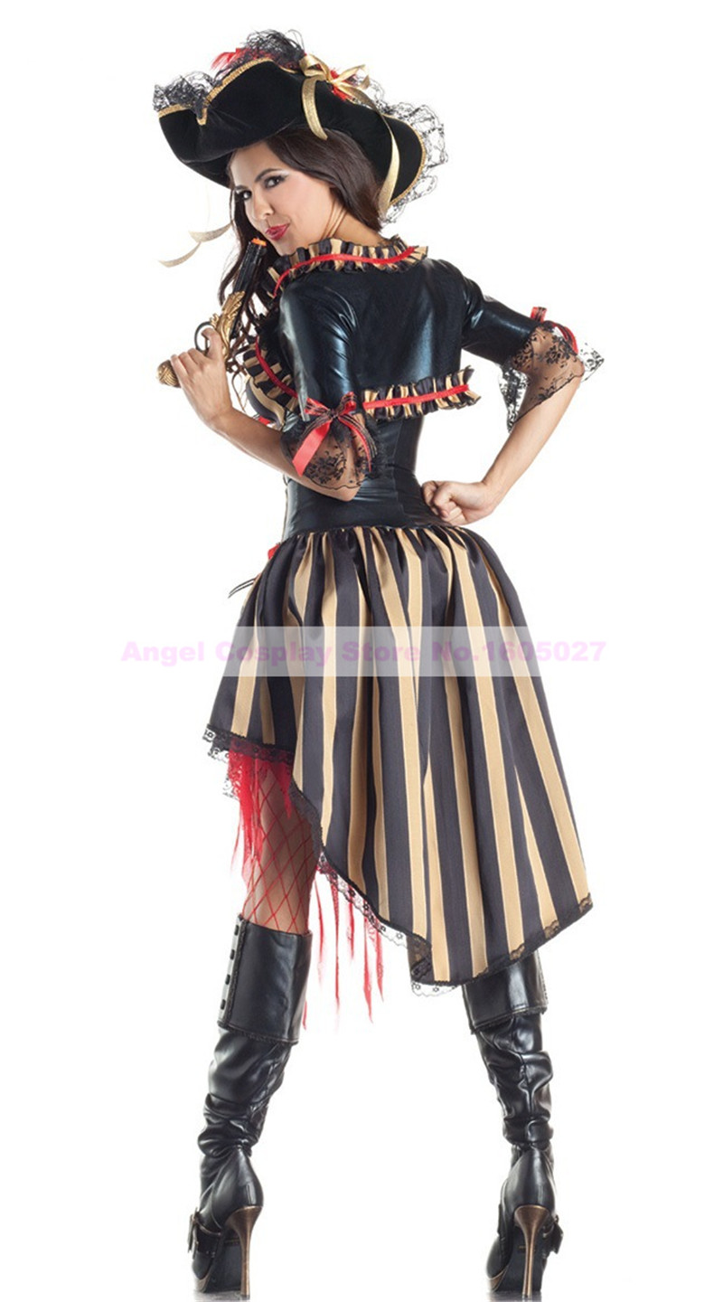 Online Buy Wholesale Purple Pirate Costume From China