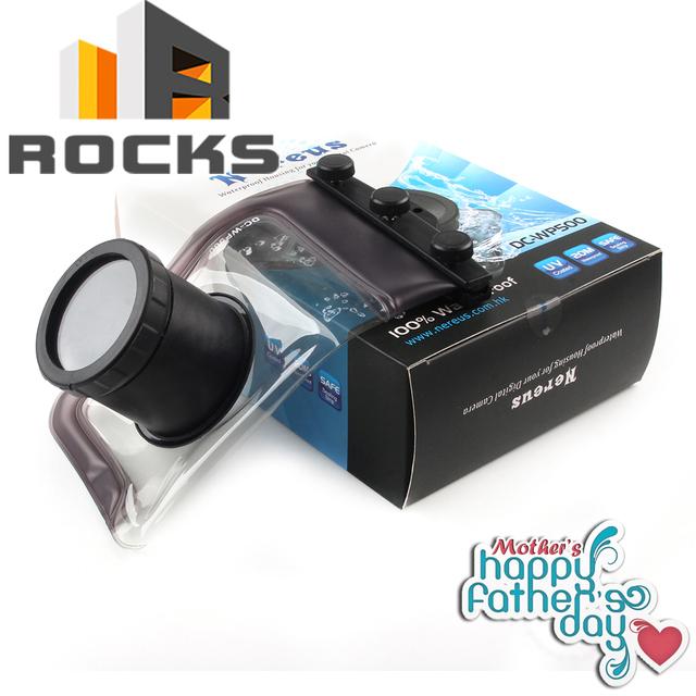 underwater Camera/Video Bags Nereus WP-500 Digital Camera Waterproof Case Bag Suit For Most Small Digital Cameras