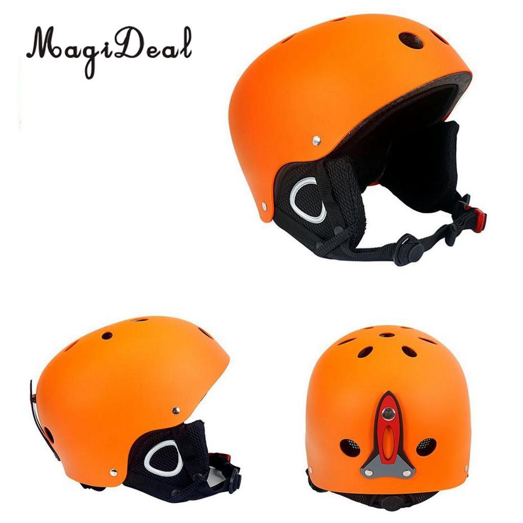 MagiDeal Unisex Ski Snowboard Helmet Ultralight Warm Windproof Snow Sports Helmet - 4 Colors