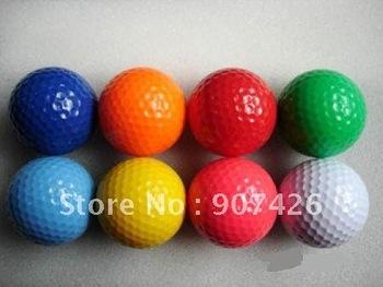 Free shipping wholesale Color golf ball 300pcs/lot