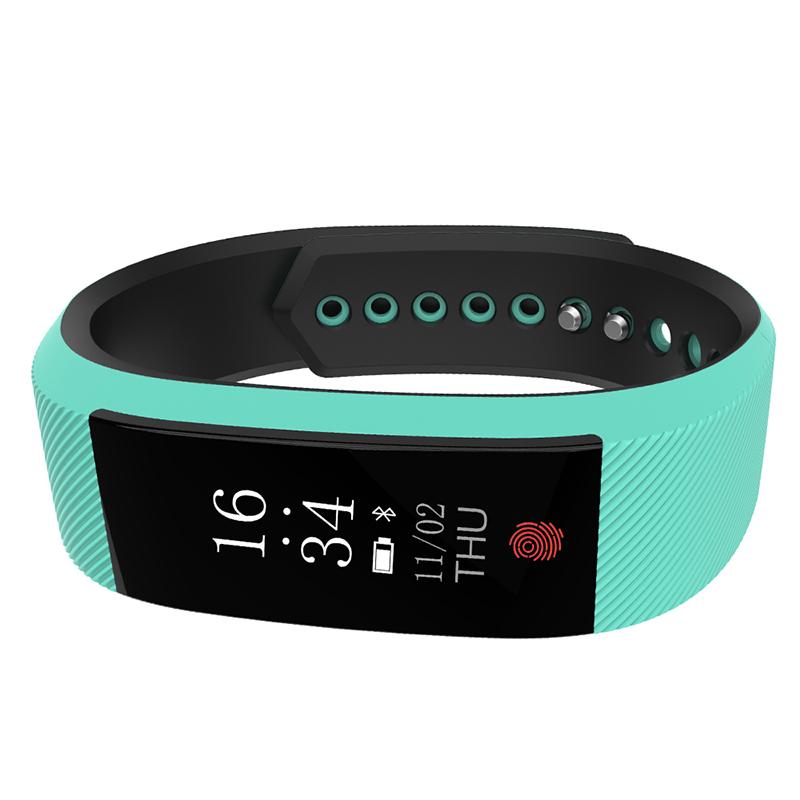 W808S Fitness Bracelet Heart Rate Smart Wristband Activity Tracker Watch Pedometer Call Reminder IP67 Waterproof Smart Bracelet