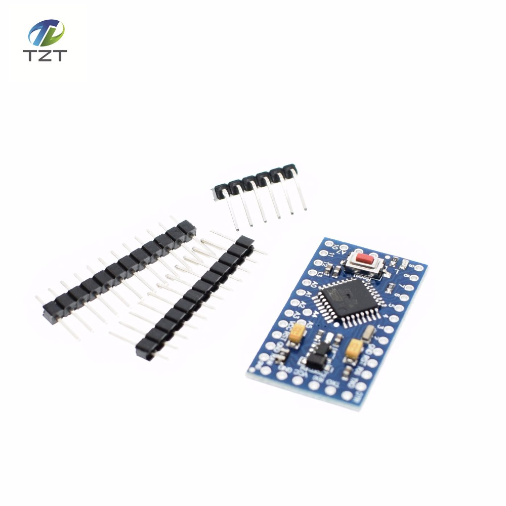 Free ! new version! 100pcs ATMEGA328P Pro Mini 328 Mini ATMEGA328 5V/16MHz Arduino