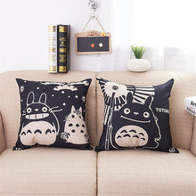 Cute Totoro Sofa Throw Pillow