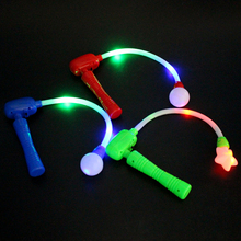 Glow Stick Electric Magic Wand Flashing Flash Luminous Musical Toy for Concerts Party Prom(China (Mainland))