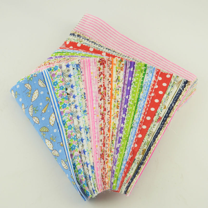 Stash Patchwork Fabric Bundle 100% Cotton Twill Fabric Sewing for Quilting Baby Bibs Tilda Doll 10cmx12cm Random Color Materials(China (Mainland))