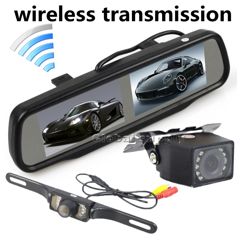 wholesale wireless rearview backup camera kit from china