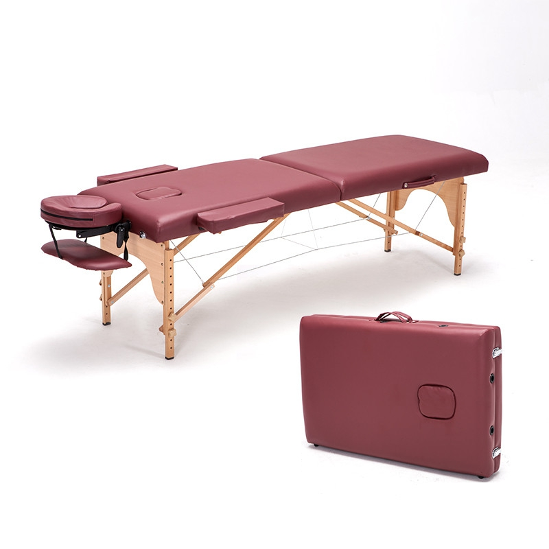German Import Beech Massage folding massage bed Portable beauty care beauty bed physiotherapy bed Table Facial SPA Tattoo Bed(China (Mainland))