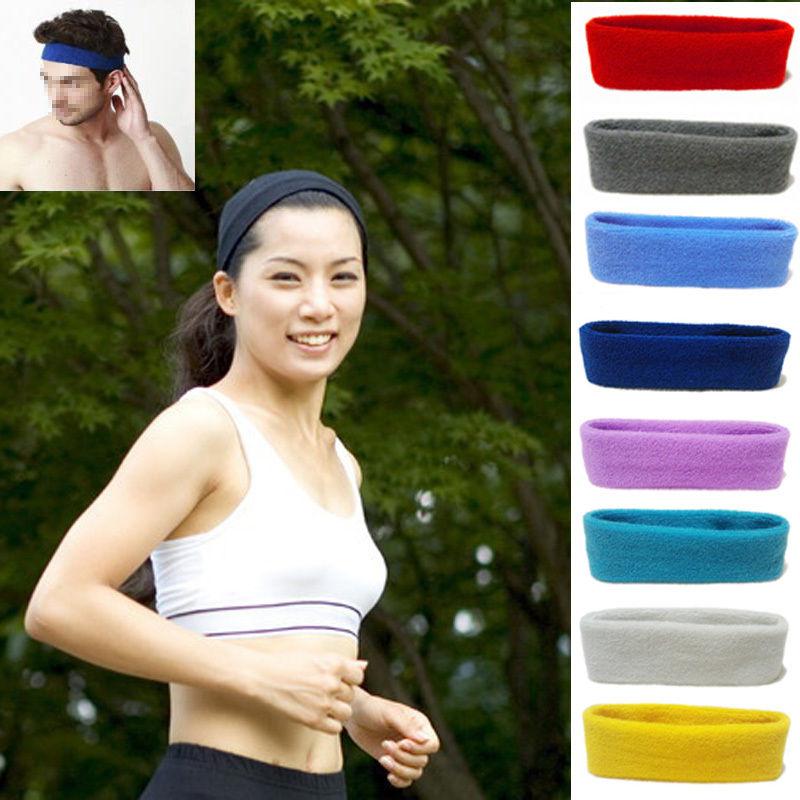 1 pc Unisex Sports Sweat sweatband Headband Yoga Gym Stretch Head Band Hair Band hair accessories(China (Mainland))