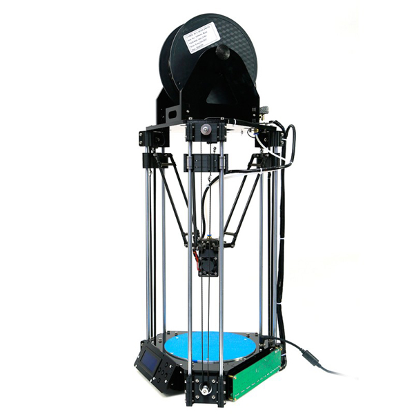 2014 Newest Reprap Delta 3D Printer Rostock Mini Pro  3 D Print DIY KIT  High Accuracy  with LCD Controller set w/ SD RAMPS<br><br>Aliexpress