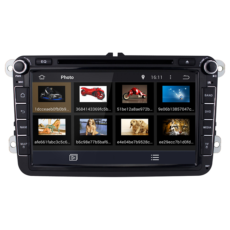 3G GPS Stereo 8 Android 4 4 Car DVD Player Radio For VW Golf Passat Volkswagen