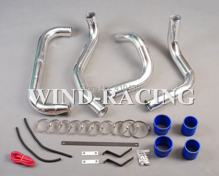 INTERCOOLER PIPPING KIT FOR NISSAN GTIR N14 PULSAR TURBO COUPLERS ALUMINUM PIPES - Eunavi Official Store store