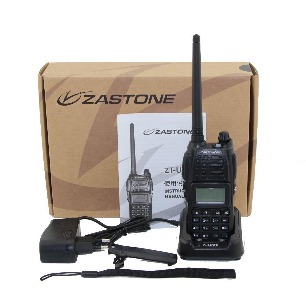 NEW radio walkie talkie Zastone UV-55 dual band radio 136-174MHz &400-470MHz with big display free shipping(China (Mainland))