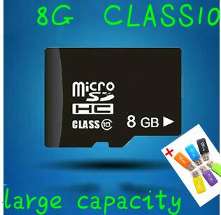 Гаджет  Hight speed real capacity C10 micro sd card 8gb CLASS 10 memory Card TF card None Компьютер & сеть