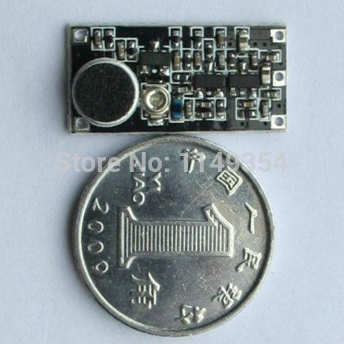 FM Audio Surveillance wireless microphone FM transmitter frequency: 85-115MHZ