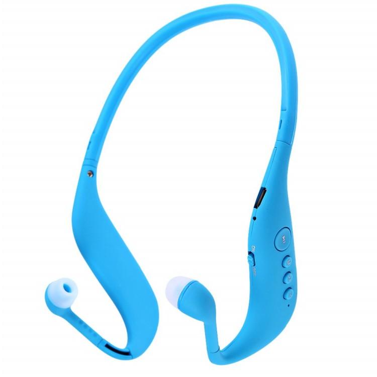 BOAS bluetooth 4.0 earphones running sport headphones support TF card MP3 player FM radio sweatproof headsets Mic for smartphone