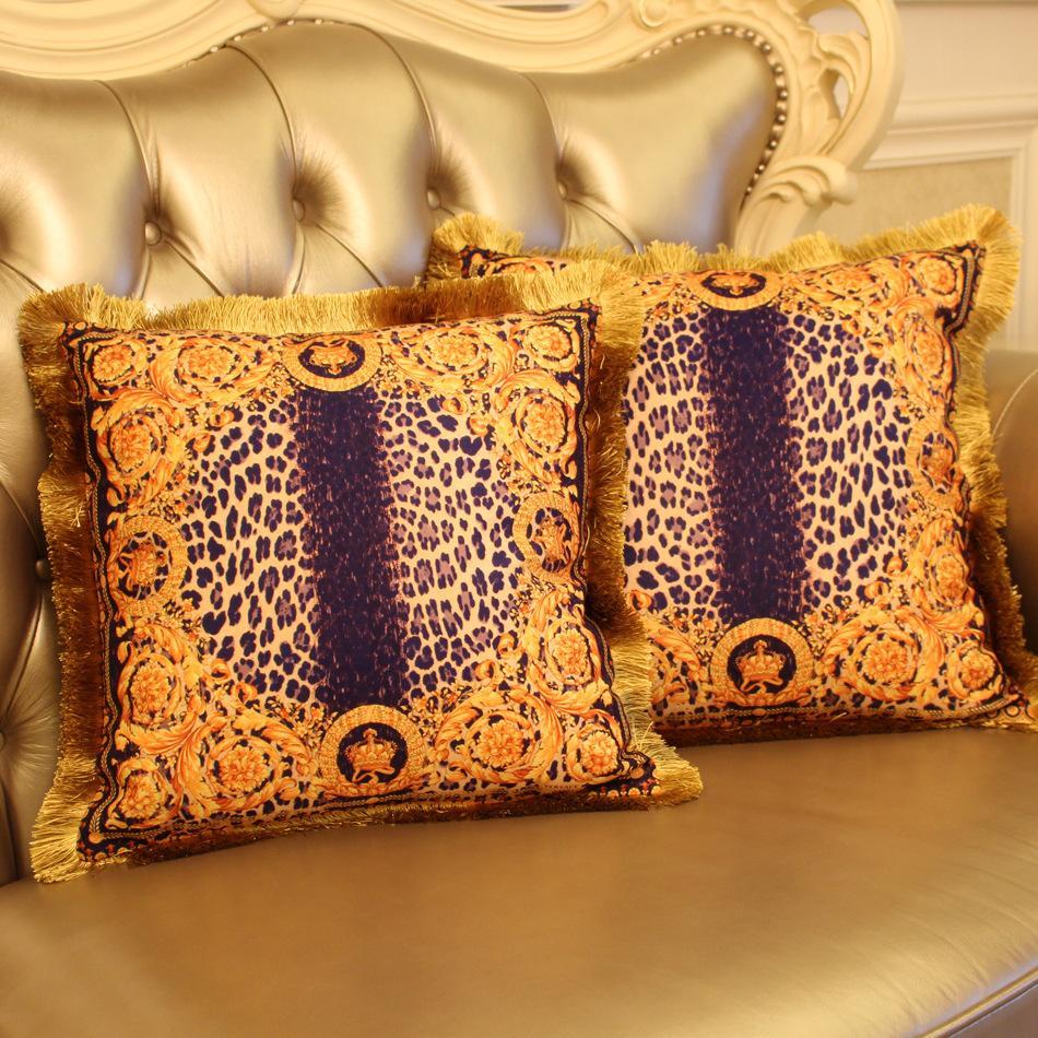 Luxury Decorative Pillows : Cushion Pillow Cover big luxury european style decorative Pillows case sofa car coverscapa de ...