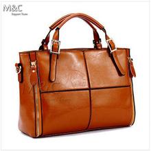 Women Leather Bags for Women Shoulder Bags bolsas femininas women messenger bags Dual Zippers Cowhide Patchwork Handbag SD-072