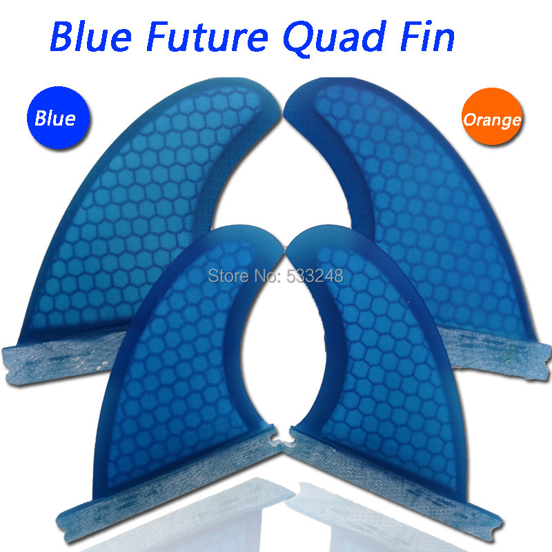top quality quad fiberglass honeycomb future quad surfboard fins/4pcs per set surf fins in stock(China (Mainland))