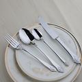 Quality 24 Pcs Cutlery Set European Classic Dinnerware Set Food Grade Stainless Steel Vintage Silver Flower