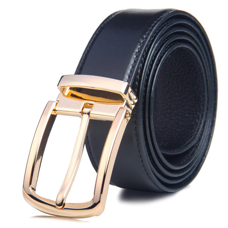 2016 New Business Belt 100% Cowhide leather belts for men ...
