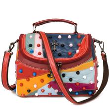 Luxury Women Genuine Leather Bag Sheepskin Messenger Bags Handbags Women Famous Brands Designer Female Handbag Shoulder Bag Sac(China (Mainland))