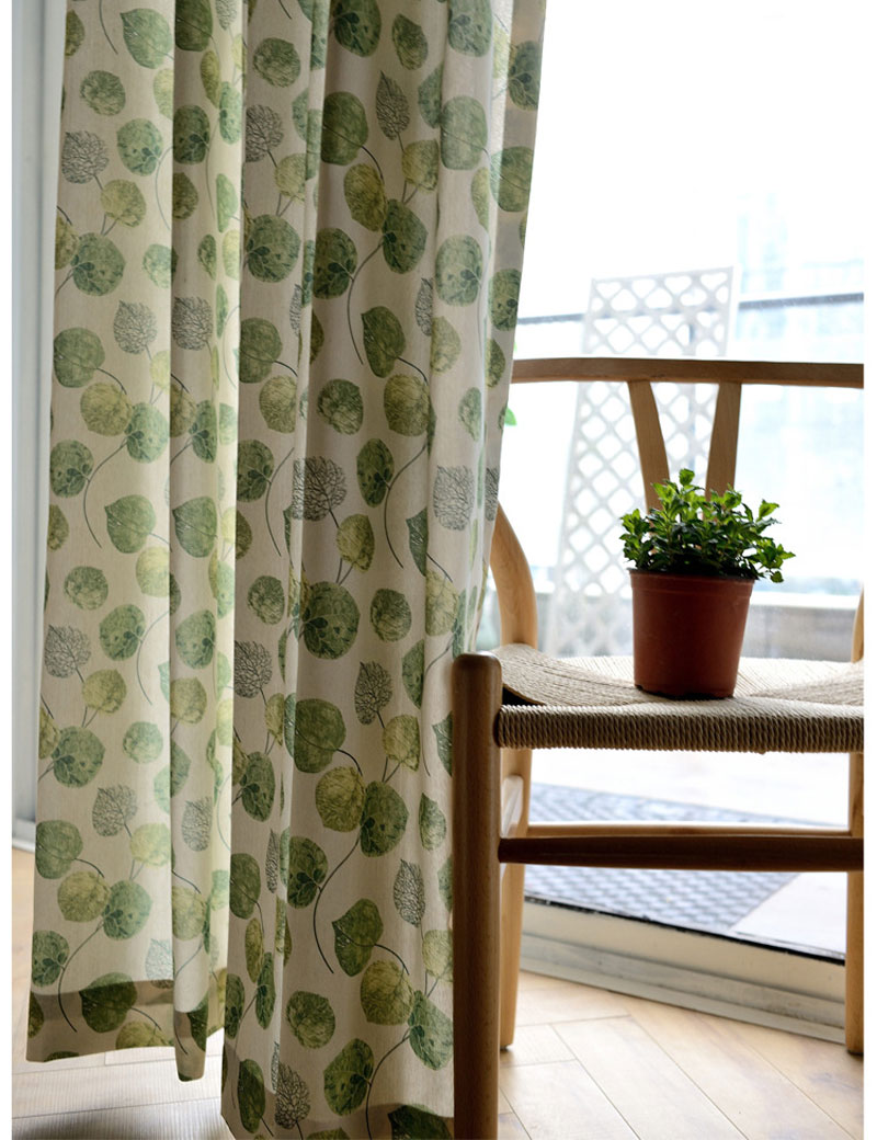 Popular Green Patterned Curtains Buy Cheap Green Patterned Curtains Lots From China Green