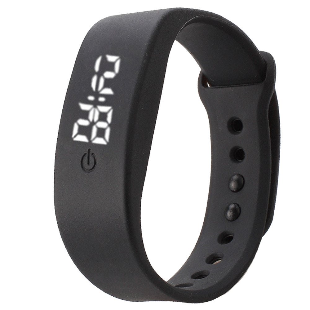 Hot Sale Men Women Rubber LED Watch Students Kids Date Bracelet Digital Sport Wristwatch 10 Candy Color Dress As Gift Wholesale(China (Mainland))