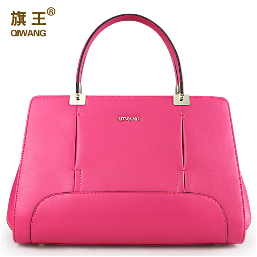 fashion hobos famous brands genuine leather bag qiwang women bag 2015 new black women handbag shoulder Messenger Bag<br><br>Aliexpress
