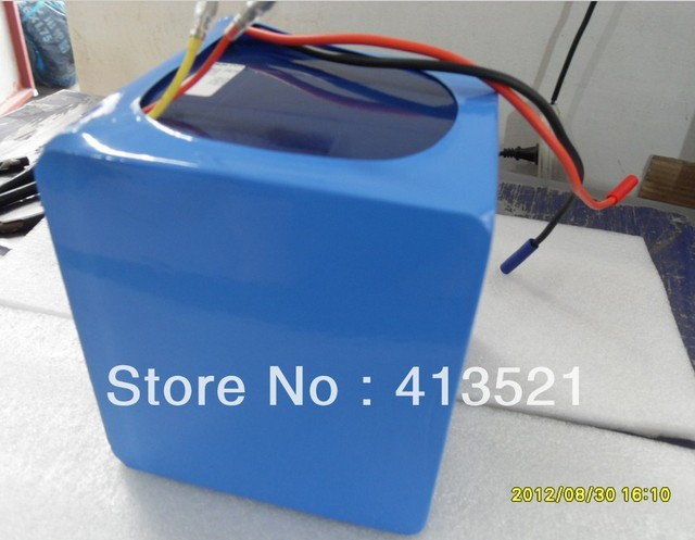 48v 20ah rack type E-bike li-ion battery+charger
