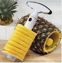 Pineapple Corer Kitchen Easy Tool Fruit Slicer Cutter Peeler Parer Gadget F1R(China (Mainland))
