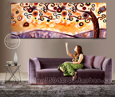 Buy Hand painting flowers stylish frameless painting decorative painting minimalist style electrical box knife flower paintings pain cheap