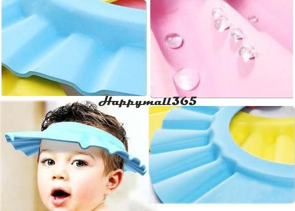 Holiday Sale 10Pcs/Lot New 2014 Soft Shampoo Bath Shower Cap Hat for Baby Kid Children Hair 18(China (Mainland))
