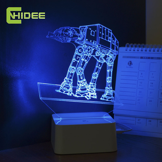 Star Wars AT-AT Walker Dimmable Nightlight Lamp
