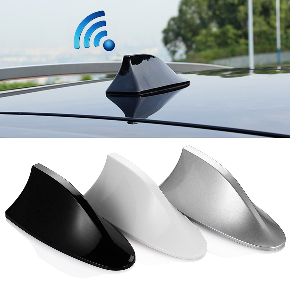 Buy shark antenna special car radio aerials shark fin auto for Antenna decoration