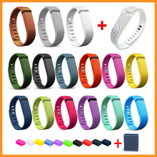 High-Quality 16PCS Replacement Bands with Metal Clasps for Fitbit Flex Only / Wireless Activity Bracelet Silicon Sport Wristband