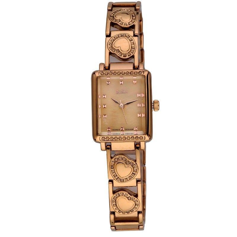 Julius Lady Woman Wrist Watch Quartz Hours Best Fashion Dress Retro Color Korea Bracelet Band Rectangle Shell JA-654<br><br>Aliexpress