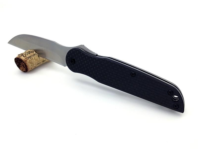 Buy WTT Tactical Folding Knife With D2 Steel TC4 titanium alloy + carbon fiber Handle Camping Pocket knife Survival combat Knives cheap