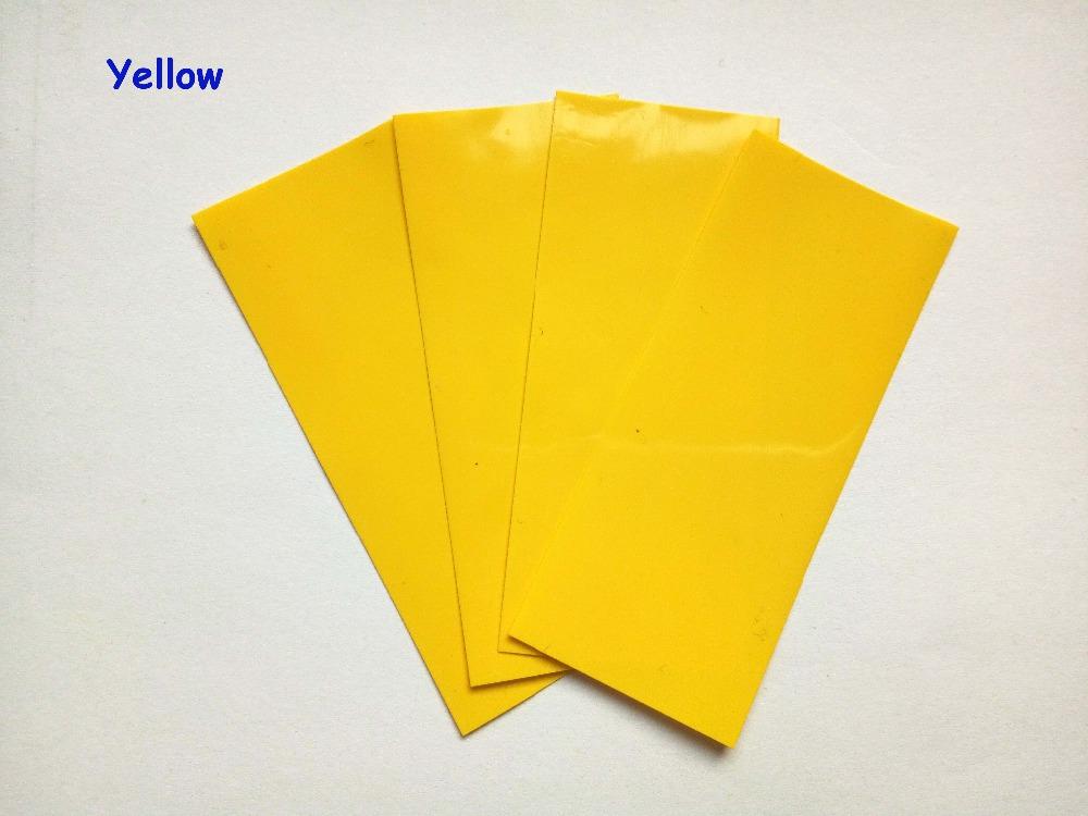 20pcs 18650 shrink wrap PVC heat shrink tube cable sleeves 18650 wrap