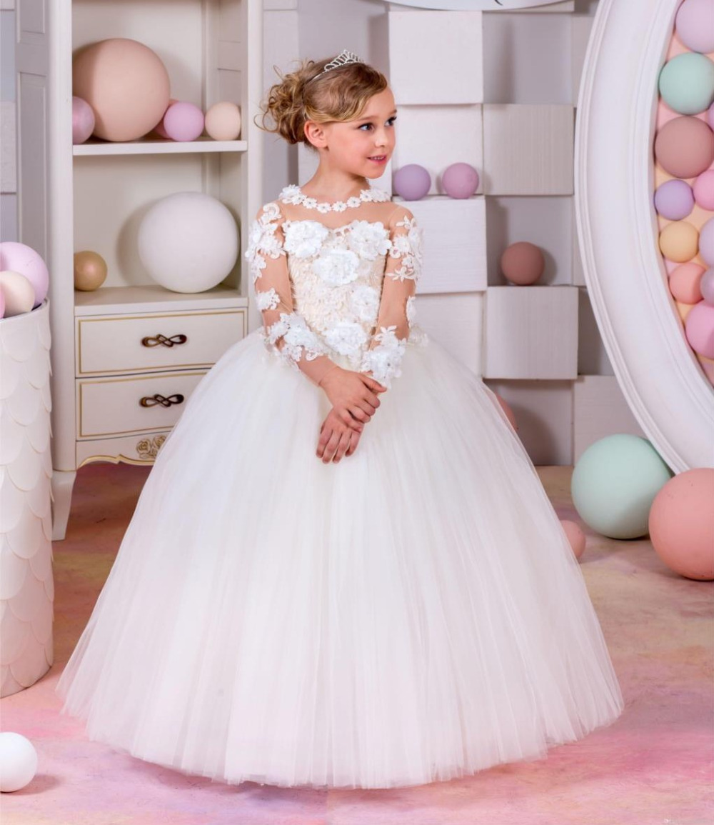 Aliexpress.com : Buy 2016 Flower Girl Dresses For Weddings ...