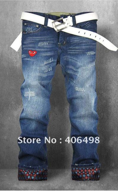 Wholesale price 100% cotton washed sale denim jeans for men MS003