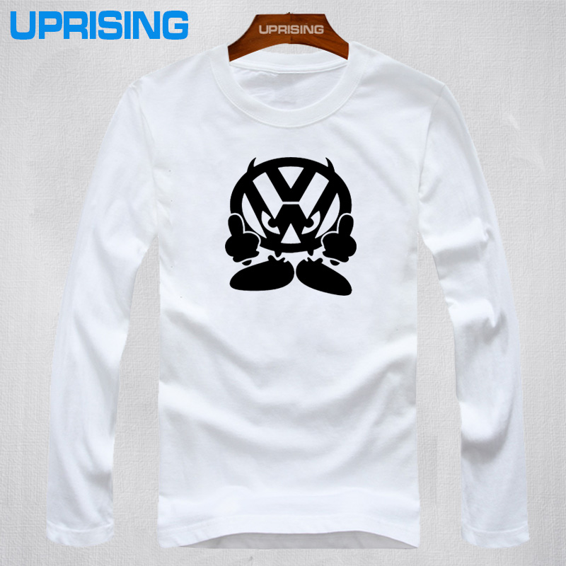 New T Shirt Men Brand Vw Face Volkswagen Auto Printed T
